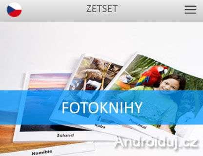 Fotoknihy - aplikace zetset