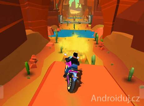Android hra - Faily Rider