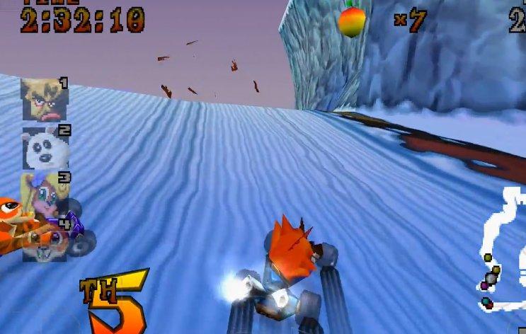 Crash Team Racing android hra zdarma