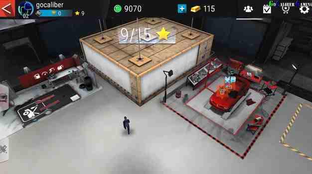 Gear Club In-Game v garáži