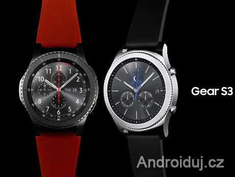 Samsung  ukazuje Gear S3 na videu, jednoduchá organizace