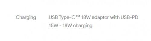 USB TYP C nabíjení 15W-18W