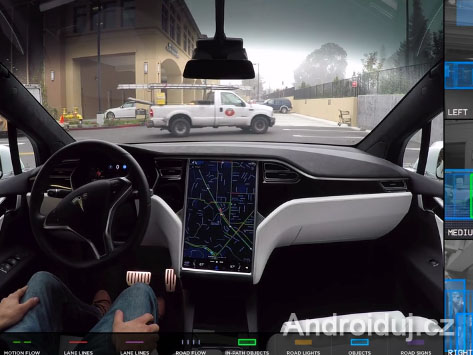 Tesla autopilot v praxi