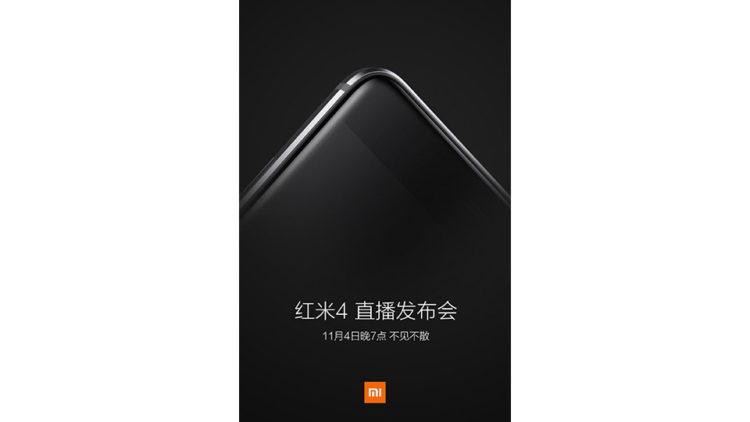 Xiaomi Redmi 4 již 4. Listopadu, Snapdragon 625