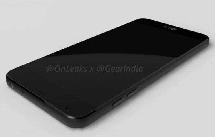 LG G6 ve 3D renderech