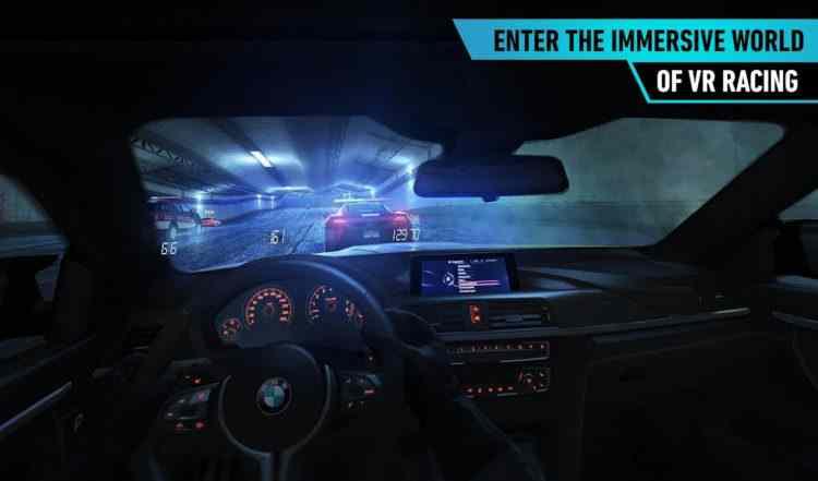 Hra Need For Speed No Limits pro virtuální realitu