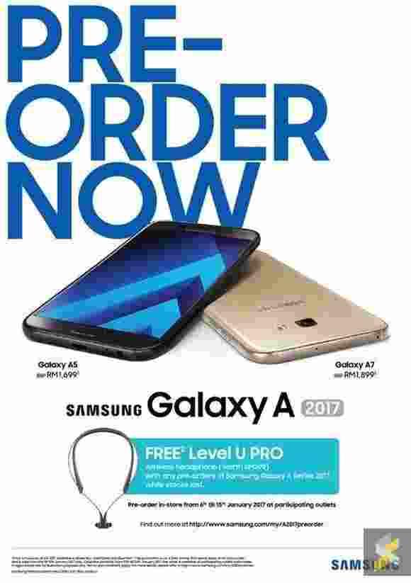 Samsung Galaxy A 2017 (A7, A5, A3) - manuál, ceny
