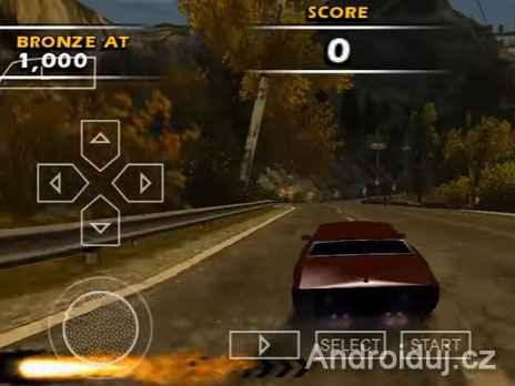 Burnout Dominator (PPSSPP Emulator) na mobil