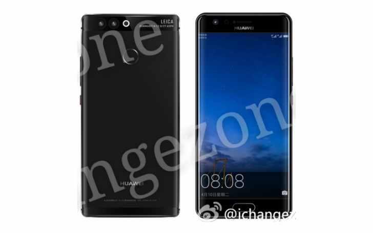 Huawei P10 se zahnutým displejem po obou stranách