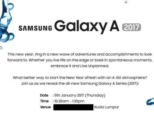 Samsung Galaxy A 2017 v Kuala Lumpur 5. Ledna