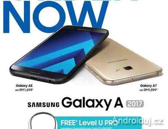 Samsung Galaxy A 2017 (A7, A5, A3)   manuál, ceny   novinky
