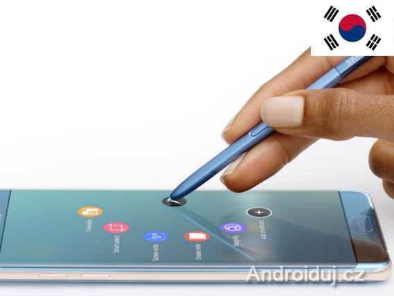 Galaxy Note 8 spekulace ohledně specifikací