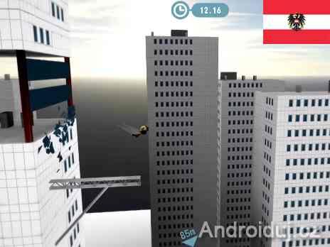Stickman Base Jumper 2 android hra zdarma ke stažení