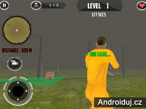 Android hra ke stažení San Andreas Gangster vězení