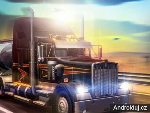 Android hra Truck Simulator USA