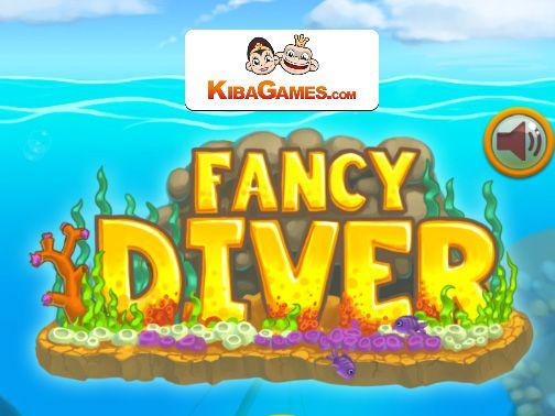 Fancy DIver HTML5 hra