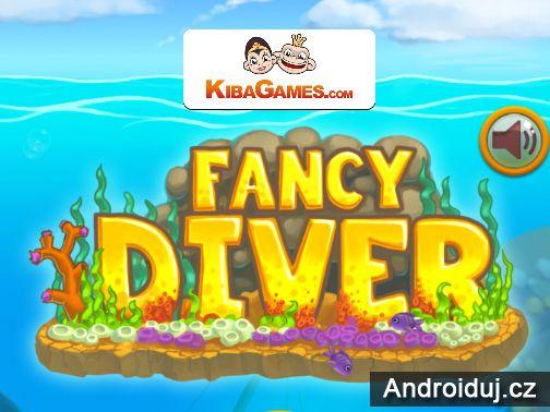 HTML5 hra Fancy Diver