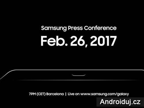 Samsung ukáže 1 minutu Galaxy S8 na MWC 2017