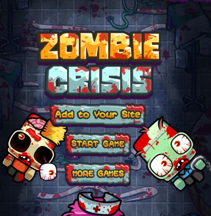 Zombie Crisis HTML5 hra