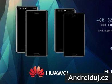 Oficiální rendery Huawei P10 Plus jsou na světě