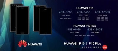 Unikl dokument se specifikaci Huawei P10 a P10 plus