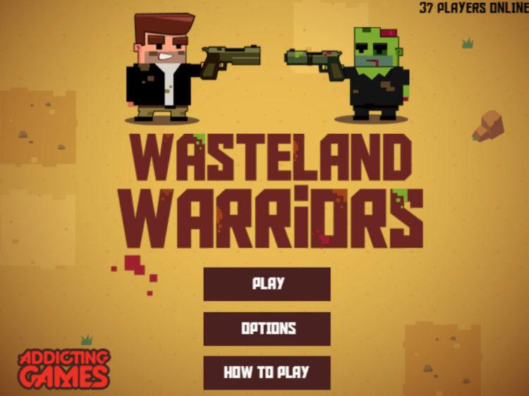 Hrát hru Wasteland Warriors v HTML5 hra na mobil