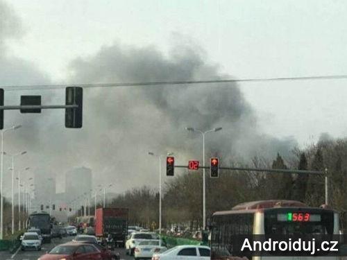 V Číně začala hořet továrna Samsung SDI, která je zodpovědná za baterie Note 7