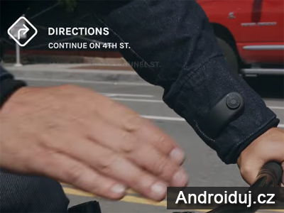 Google psolupracuje s výrobce džínových bund Levis.