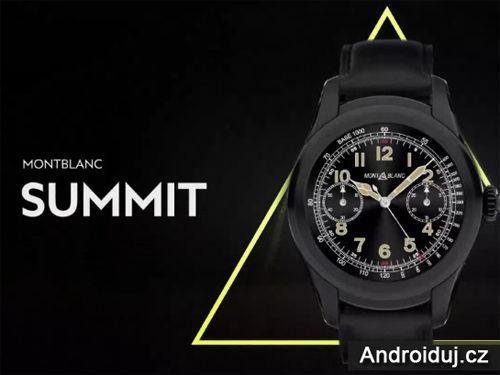 Montblanc představil nové chytré hodinky Android Wear 2.0