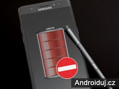 Samsung vypne nabíjení všech Galaxy Note 7