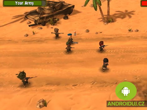 Pocket Trops android hra
