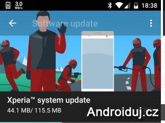 Aktualizace telefonu Xperia X s podporou módu rukavic a LDAC