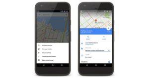 Google mapy po aktualizaci