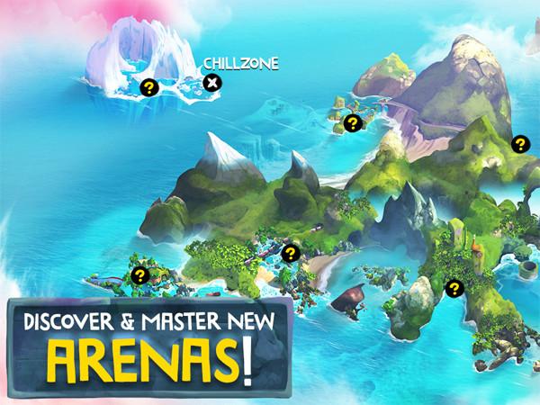 Nová hra Battle Bay bude dostupná 4. Května