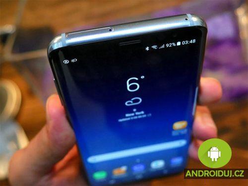 Samsung Galaxy S8 displej zobrazení