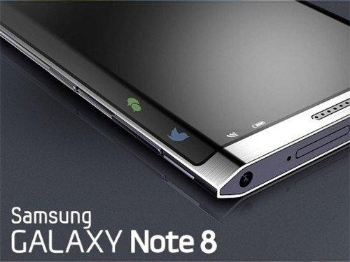 Galaxy Note8 bude mít 6.3 palcový displej   novinky