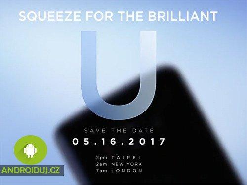 Oznámení HTC U