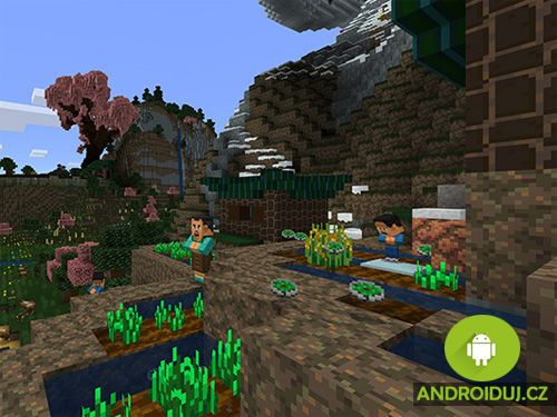 Nová aktualizace pro hru Minecraft Pocket Edition. Přináší gigantické pandy, dráčky