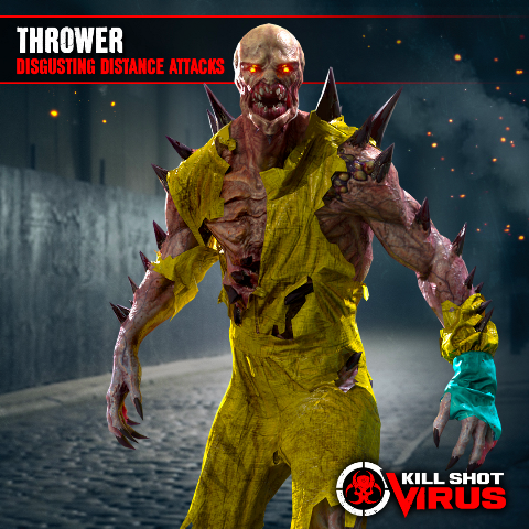 Thrower - Kill Shot Virus