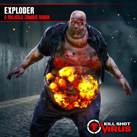 Exploder - Kill Shot Virus