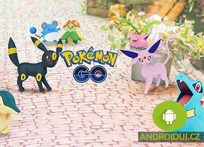 Pokémon Go android hry pro vás
