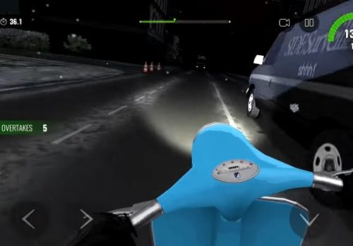 Moto Traffic Race 2 android hra zdarma