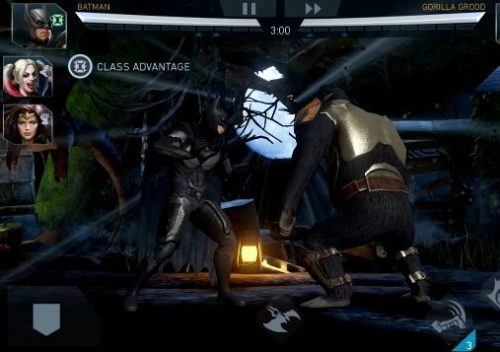 Android hra zdarma Injustice 2