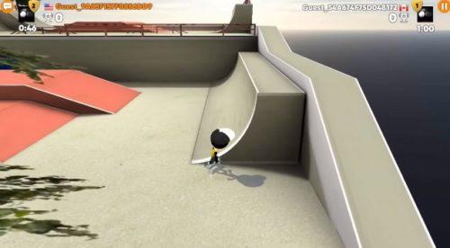 Stickman Skate Battle android hra zdarma sportovní