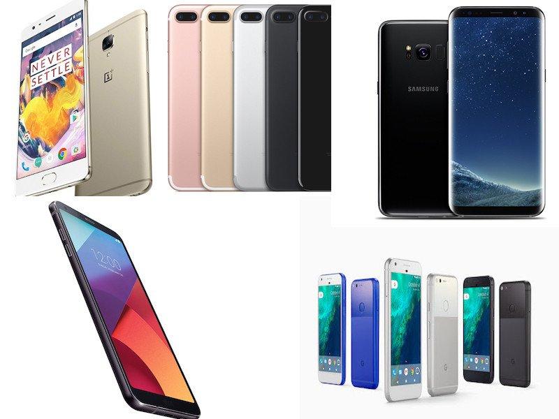 5 Nejlepších herních telefonu (Jaro 2017)