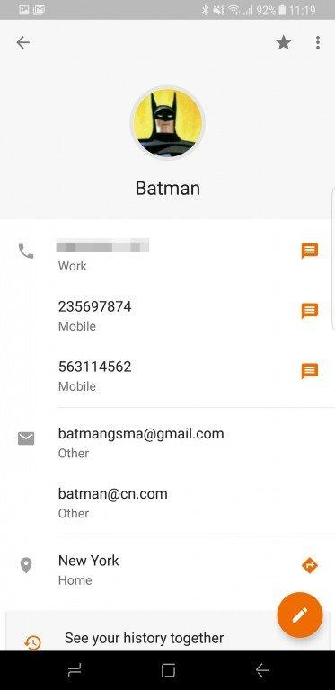 Google kontakty 2.0