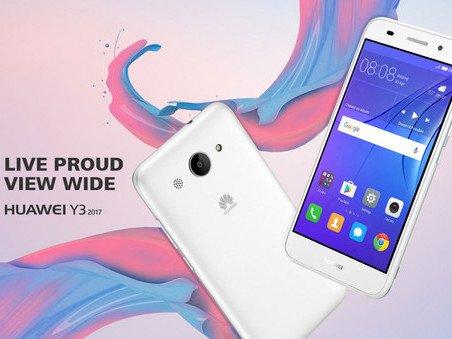 Huawei Y3 2017 se potichu představil   novinky