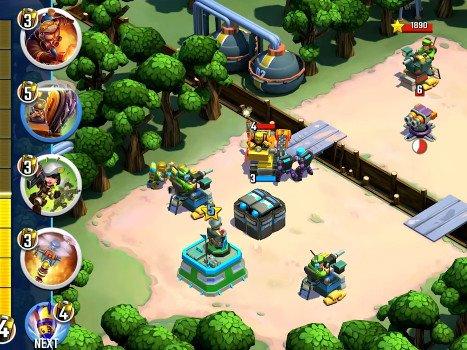 Android hra Blitz Brigade