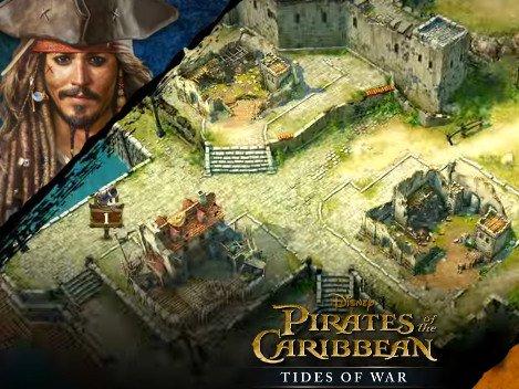 Pirates of the Caribbean: Tides of War. Strategie na mobilní telefon.   strategie hry novinky androidhry