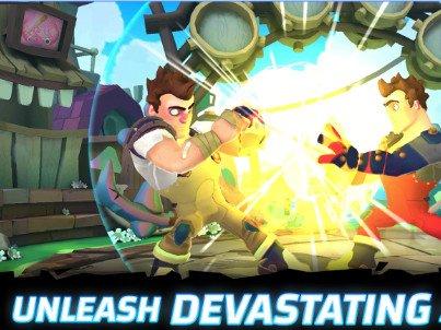 Bojová hra Smash Supreme pro více hráčů   novinky androidhry akcni hry